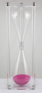 Sanduhr aus Acrylglas - Hochwerte Sanduhr in eleganter Glas-Optik